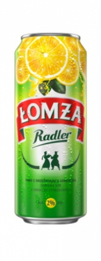 Piwo Łomża Radler